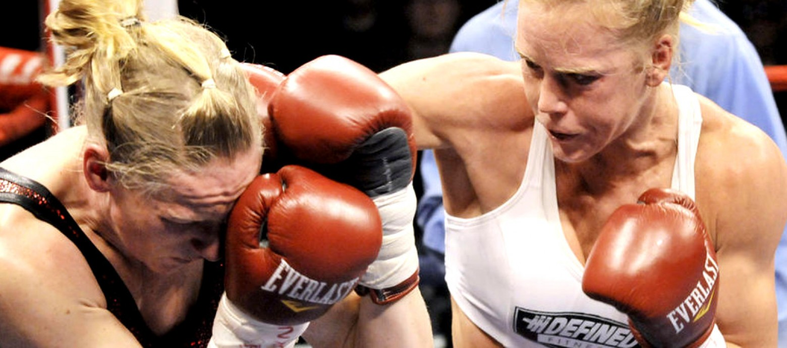 WHAT'S NEXT FOR THE NEW BANTAMWEIGHT CHAMP HOLLY HOLM?